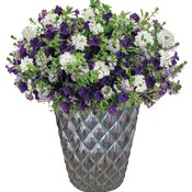 AquaPot® Diamond Eggplant Tall Round