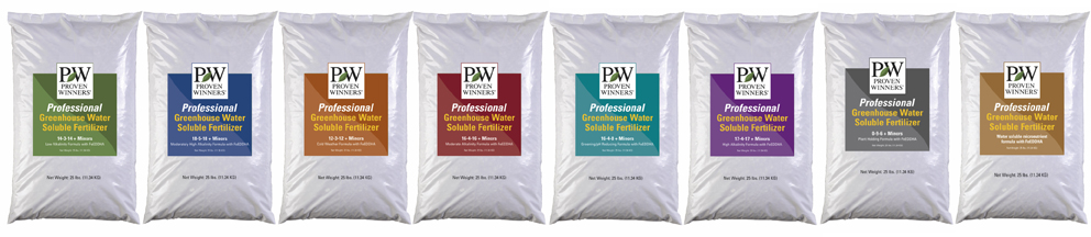 Professional Greenhouse Water Soluble Fertilizers | Proven
